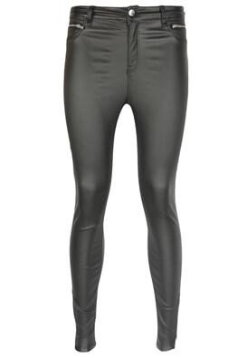 Pantaloni Bershka Tara Black