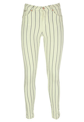 Pantaloni Bershka Karla White
