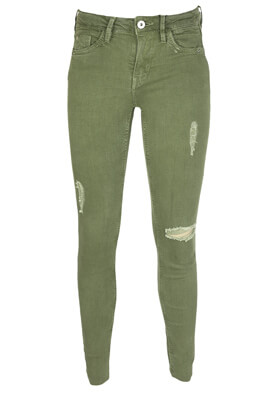 Blugi Bershka Kinga Dark Green