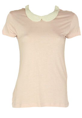 Tricou ZARA Diana Light Pink