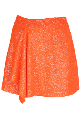 Fusta Bershka Erika Orange