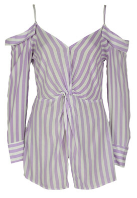 Bluza Bershka Hailey Light Purple