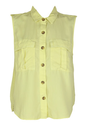 Camasa Bershka Lucy Light Yellow