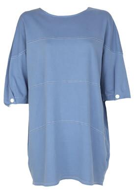 Tricou ZARA Jill Blue