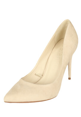 Pantofi Bershka Barbie Light Beige
