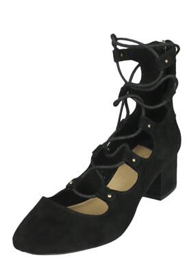 Pantofi Stradivarius Della Black