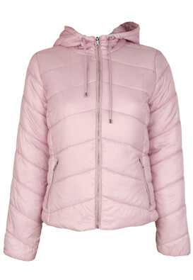 Geaca Bershka Tasha Light Pink