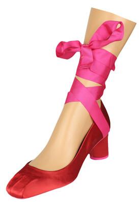 Pantofi ZARA Nicole Red