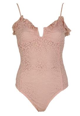Body Bershka Lacy Pink
