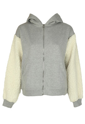Jerseu Bershka Dina Light Grey