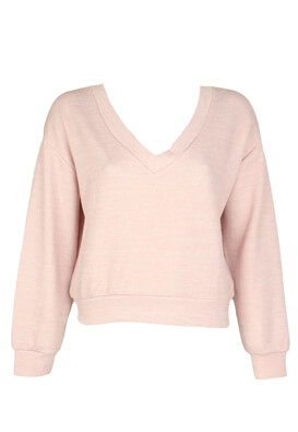 Bluza Bershka Erika Light Pink