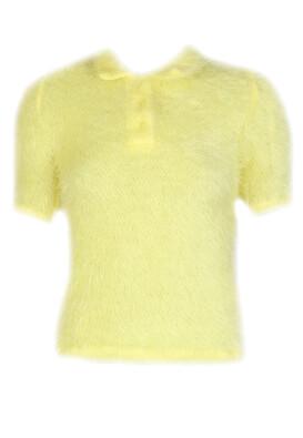 Tricou Bershka Zoe Yellow