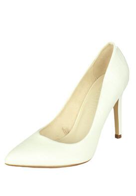 Pantofi Bershka Keira White