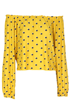 Bluza Bershka Georgia Dark Yellow