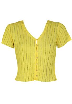 Tricou Bershka Irene Yellow