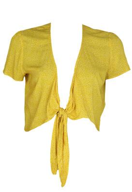 Bolero Bershka Nastasia Dark Yellow