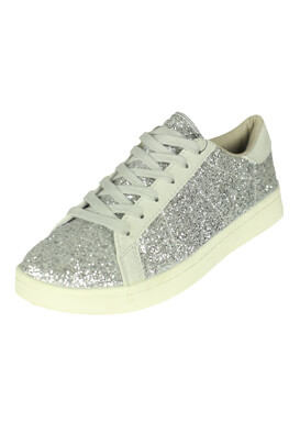Adidasi Lefties Doreen Silver