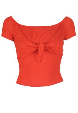 Tricou Bershka Elle Red
