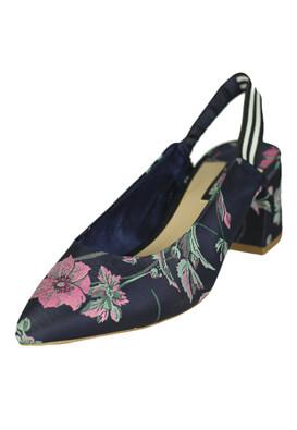 Pantofi Stradivarius Gloria Dark Blue