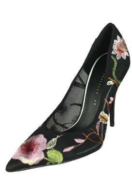 Pantofi ZARA Flowers Black