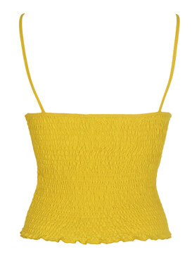 Maieu Bershka Carrie Dark Yellow