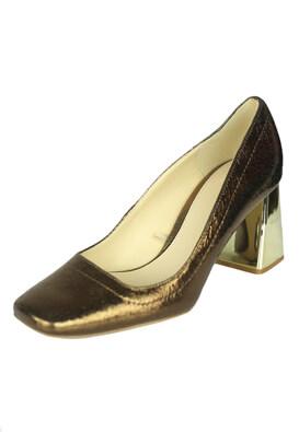 Pantofi piele ZARA Kora Brown