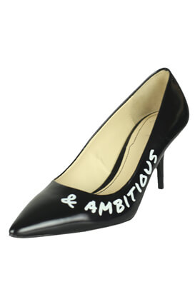 Pantofi piele ZARA Elisa Black