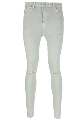 Blugi Bershka Jenna Light Grey