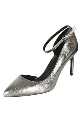 Pantofi Bershka Brenda Silver