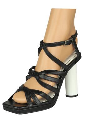 Sandale piele ZARA Maya Black