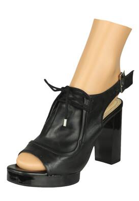 Sandale piele ZARA Irene Black