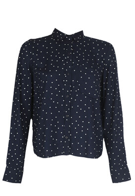 Camasa Bershka Monique Dark Blue