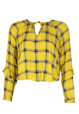 Bluza Bershka Sylvie Dark Yellow