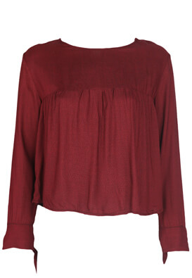 Bluza Bershka Alice Dark Red