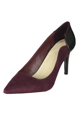 Pantofi Pull and Bear Carla Dark Purple