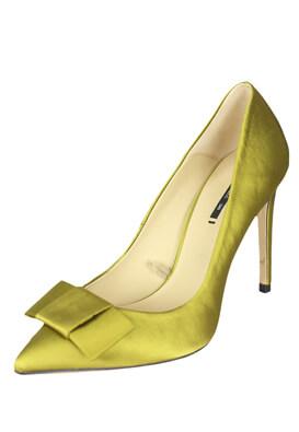 Pantofi ZARA Della Dark Green