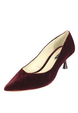 Pantofi ZARA Chloe Dark Red