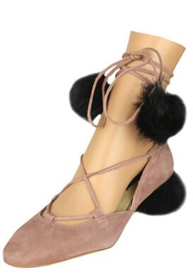 Pantofi piele ZARA Pamela Light Purple