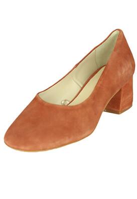 Pantofi piele ZARA Della Light Brown