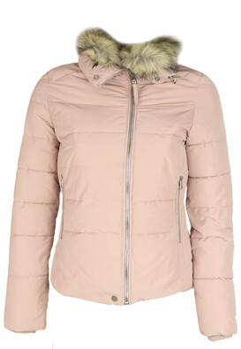 Geaca Bershka Samantha Light Pink