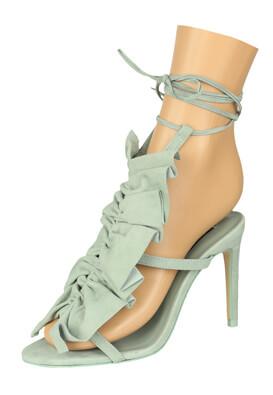 Sandale piele ZARA Jessica Light Blue