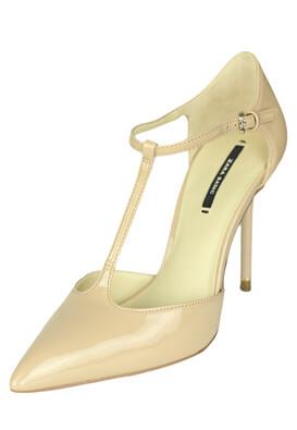 Pantofi ZARA Chloe Light Beige