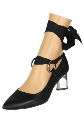 Pantofi Stradivarius Taya Black