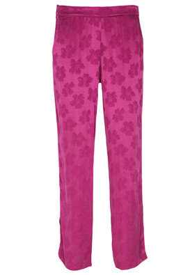 Pantaloni ZARA Sabrina Dark Pink