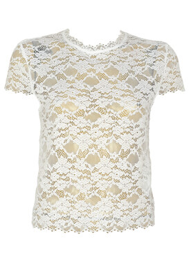 Tricou ZARA Mary White