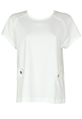 Tricou ZARA Hailey White