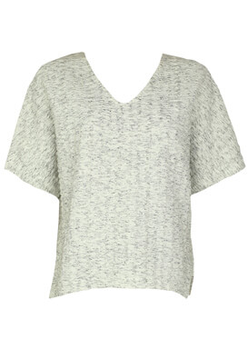 Tricou ZARA Carrie Light Grey
