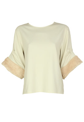 Tricou ZARA Jane Light Beige