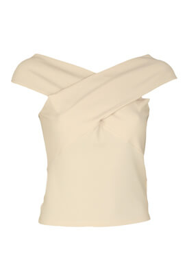 Tricou ZARA Theresa Light Beige