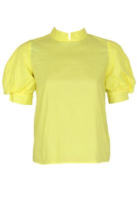 Tricou ZARA Zoe Yellow